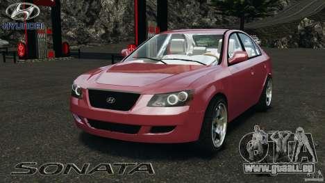 Hyundai Sonata v1.0 pour GTA 4