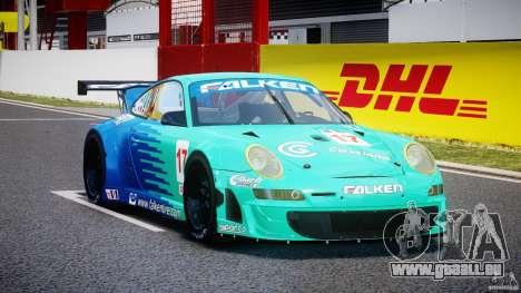 Porsche GT3 RSR 2008 für GTA 4 Rückansicht