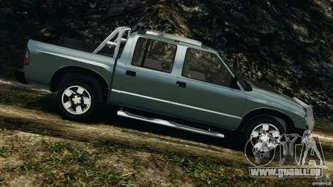 Chevrolet S-10 Colinas Cabine Dupla pour GTA 4 est une gauche