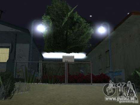 Der neue Grove Street für GTA San Andreas achten Screenshot
