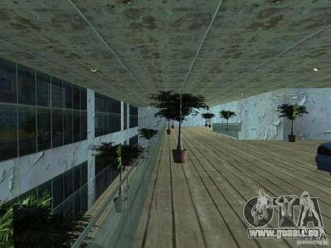 IMW Old Zastava Car Showroom pour GTA San Andreas troisième écran