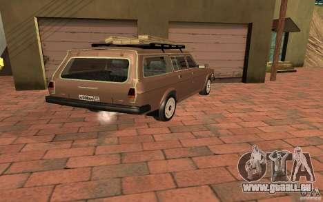 31022 Gaz Touring pour GTA San Andreas laissé vue