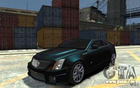 Cadillac CTS-V Coupe 2011 v.2.0 für GTA 4