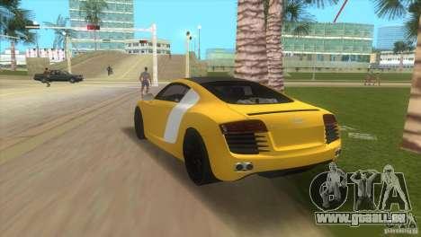 Audi R8 V10 TT Black Revel für GTA Vice City linke Ansicht