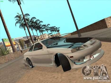 Toyota Soarer (JZZ30) für GTA San Andreas Innenansicht