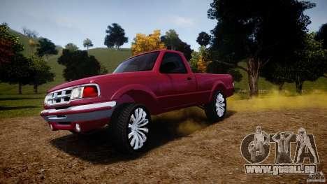 Ford Ranger pour GTA 4 roues
