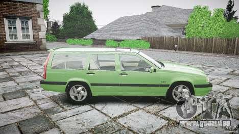 Volvo 850 Turbo 1996 für GTA 4 Seitenansicht