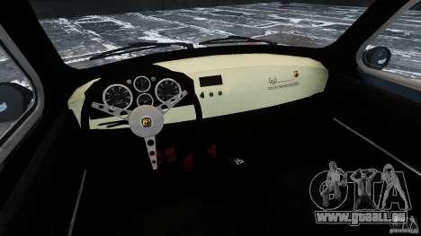 Fiat 500 695 Abarth pour GTA 4 est une vue de l'intérieur