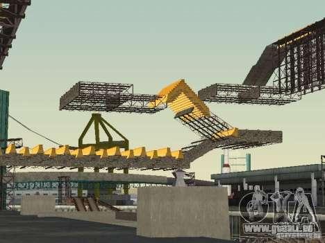 Huge MonsterTruck Track pour GTA San Andreas quatrième écran