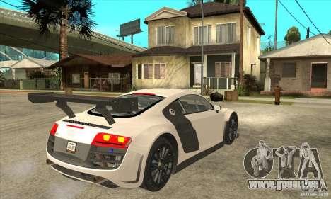 Audi R8 LMS v1 für GTA San Andreas rechten Ansicht