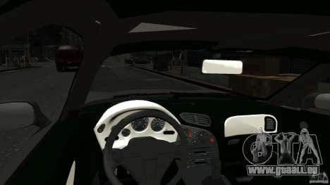 Mazda RX7 1995 Stock [EPM] pour GTA 4 est une vue de l'intérieur
