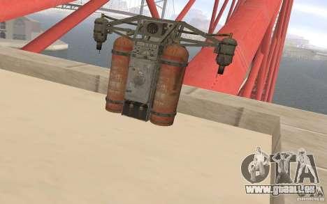 Jetpack im Stil der UdSSR für GTA San Andreas
