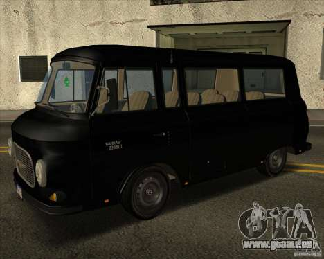 1961-1991 Barkas B1000 für GTA San Andreas Rückansicht