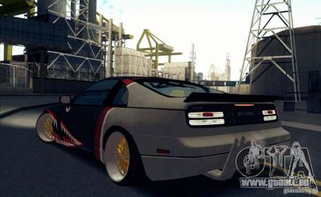 Nissan 300ZX Bad Shark pour GTA San Andreas vue de droite