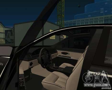 Maybach 57S für GTA San Andreas zurück linke Ansicht