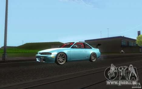 Nissan Silvia S14 Zenkitron für GTA San Andreas linke Ansicht
