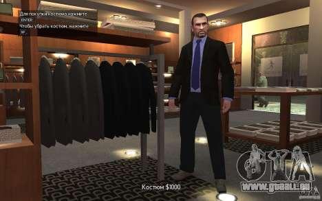 Offene Jacken mit Krawatten für GTA 4 fünften Screenshot