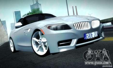 BMW Z4 Stock 2010 für GTA San Andreas linke Ansicht