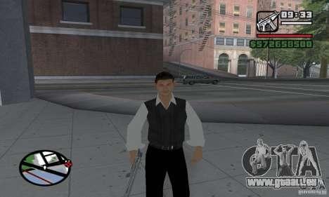 Réincarnation dans un habitant de la ville pour GTA San Andreas