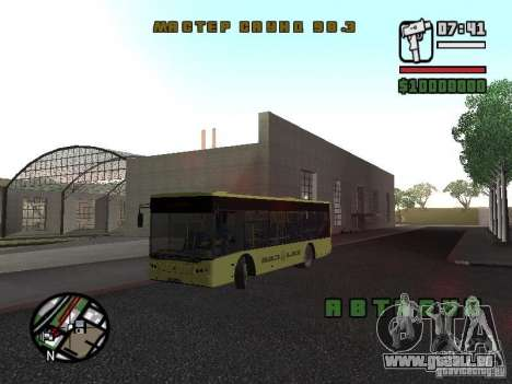 LAZ présenté (SitiLAZ 10) pour GTA San Andreas