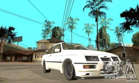 Ford Sierra RS500 Cosworth 1987 pour GTA San Andreas vue de côté