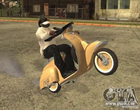 Vespa N-50 für GTA San Andreas