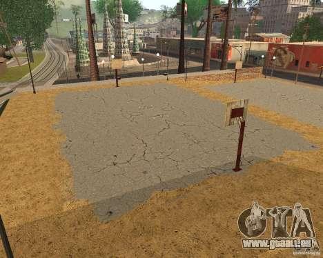 Texture de la Cour de basket-ball pour GTA San Andreas cinquième écran