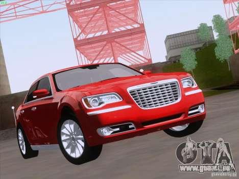 Chrysler 300 Limited 2013 pour GTA San Andreas laissé vue