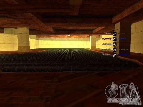 Neue Garage für SFPD für GTA San Andreas her Screenshot