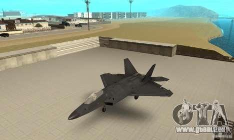 F-22 Black pour GTA San Andreas