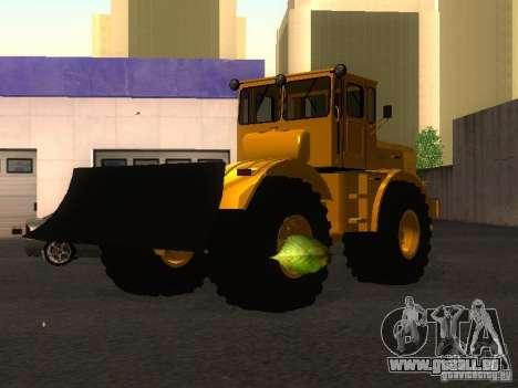 KIROVETS k-700 pour GTA San Andreas sur la vue arrière gauche