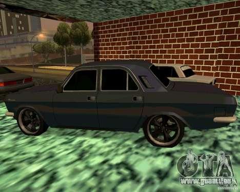 GAZ 24 v3 pour GTA San Andreas laissé vue