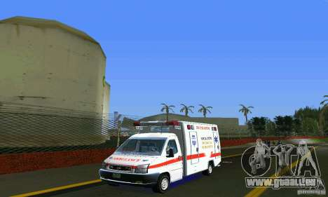 RTW Ambulance für GTA Vice City