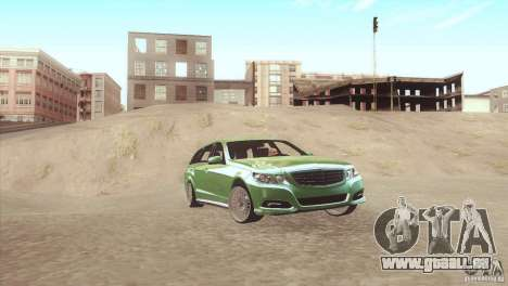 Mercedes-Benz E-Class Estate S212 für GTA San Andreas linke Ansicht