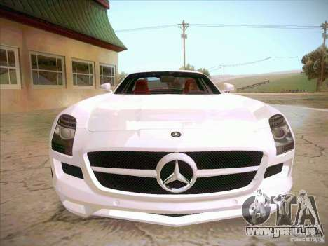 Mercedes-Benz SLS AMG 2010 Hamann Design für GTA San Andreas Rückansicht
