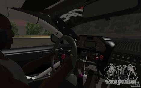 Nissan S14 Matt Powers 2012 pour GTA San Andreas sur la vue arrière gauche