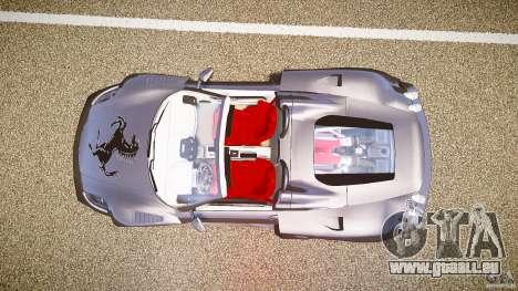 Ferrari F430 Extreme Tuning pour GTA 4 Vue arrière