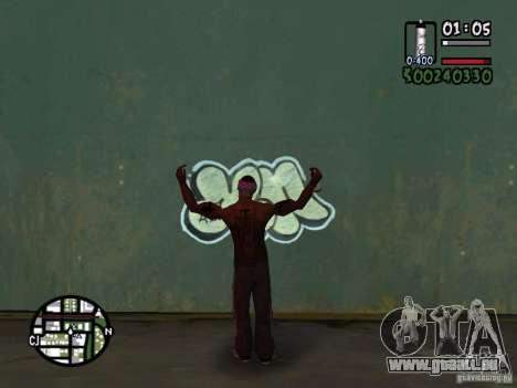 Trafiquant de drogue nouvelle pour GTA San Andreas quatrième écran