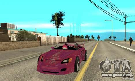 Honda S2000 The Fast and Furious pour GTA San Andreas