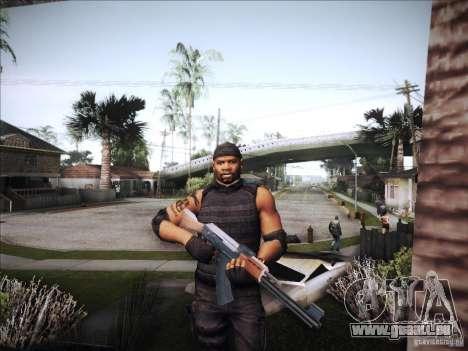 Die Expendables für GTA San Andreas fünften Screenshot