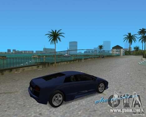Lamborghini Murcielago LP640 für GTA Vice City linke Ansicht