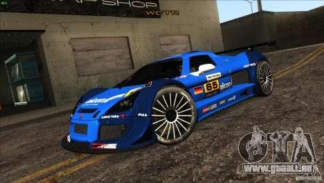 Gumpert Apollo für GTA San Andreas Räder
