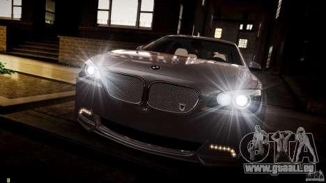 BMW 750Li Sedan ASANTI für GTA 4 Unteransicht