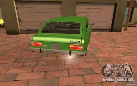 IZH 2125 Kombi pour GTA San Andreas laissé vue