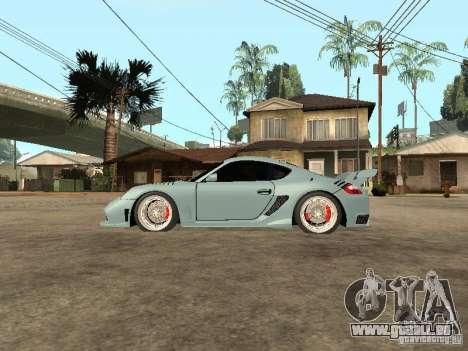 Porsche Cayman S pour GTA San Andreas laissé vue