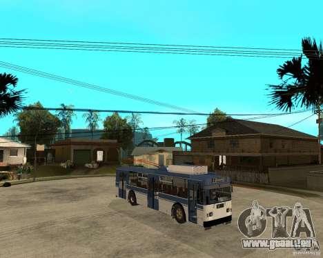 ZiU 52642 für GTA San Andreas rechten Ansicht