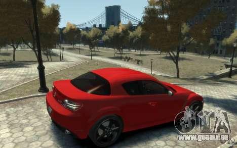 Mazda RX-8 (2006) für GTA 4 rechte Ansicht