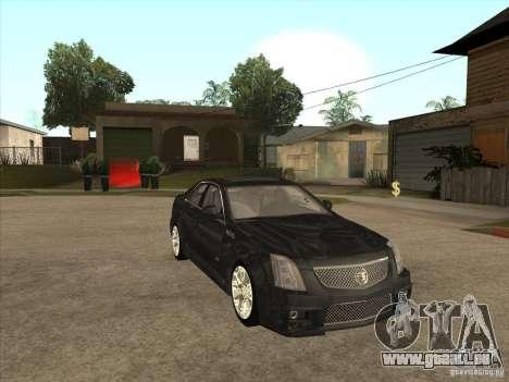 Cadillac CTS-V 2009 für GTA San Andreas Rückansicht