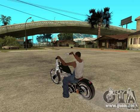 C&C chopeur pour GTA San Andreas laissé vue