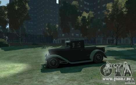 Ford Pickup 1930 pour GTA 4 est une gauche
